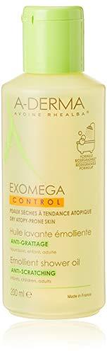 Aderma 70857 Exomega Control Olio Detergente, 200 ml