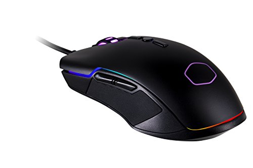 Cooler Master cm310- Optische Maus Gaming- RGB- 10000DPI- ambidextre- cm-310-kkwo2