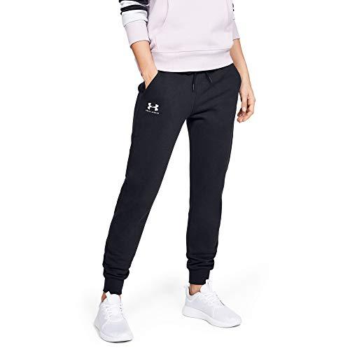 Under Armour Rival Fleece Sportstyle Graphic Pantalon Femme Noir FR : M (Taille Fabricant : MD)