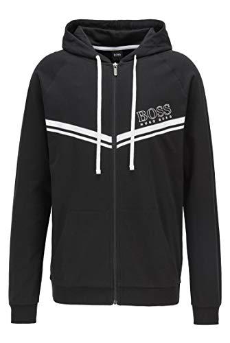 BOSS Herren Authentic Jacket Sweatshirt, Black1, XXL EU