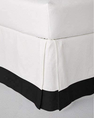 Fabricom Two Tone 100% Egyptian Cotton King Max 75% OFF Black White Direct sale of manufacturer - Bed