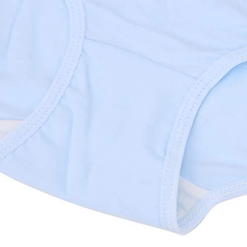 Okuyonic Bragas de Mujer Embarazada Poliuretano de algodón Suave de Cintura Alta para Embarazadas (Blue Emoji Pants, XXXL)
