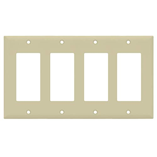 Ivory Decorator Wall Plate - 2