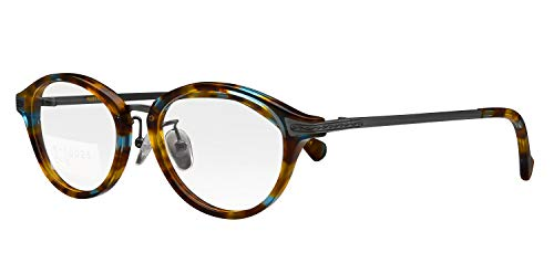 鯖江ワークス(SABAE WORKS) 遠近両用メガネ 老眼鏡 ボストン RN10025 (遠近両用 度数+1.50, C3 デミ)