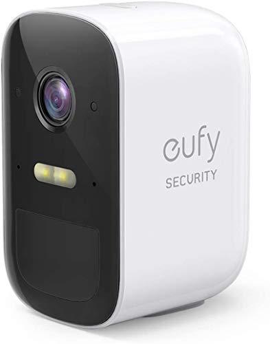 eufy Security eufyCam 2C kabelloses Überwachungskamera, zusätzliche Kamera, 180 Tage Akkulaufzeit,1080p, IP67 wetterfest, Nachtsicht, kompatibel mit Amazon Alexa (Generalüberholt)