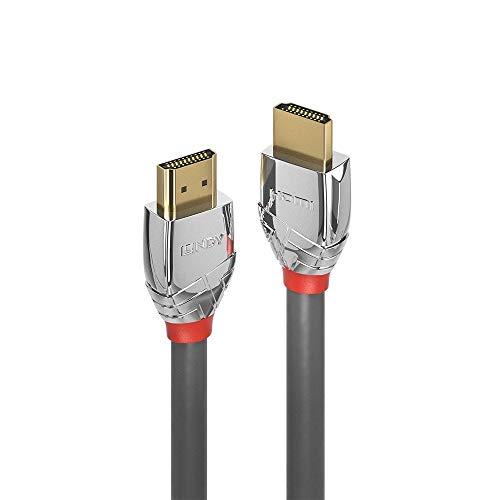 LINDY 37876 10m Standard HDMI Kabel, Cromo Line Anthrazit