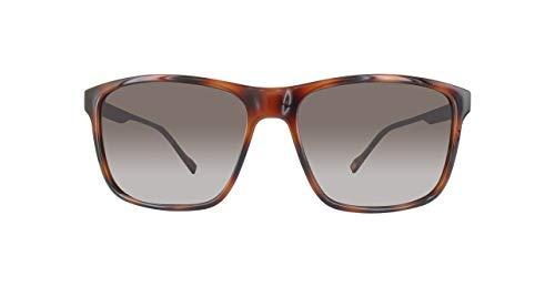 BOSS Orange Hombre BO 0163/S HA 8XL Gafas de sol, Marrón (Dark Havana/Brown Gradient), 58