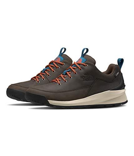 North Face M Back-TO-Berkeley Low WP, Zapatillas de Atletismo Hombre, Coffee Brown/TNF Black, 45 EU