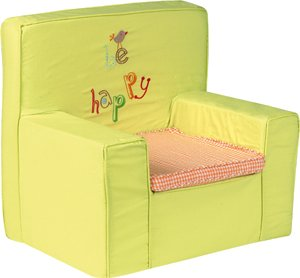 Bright Brands Sportsgoods 32110 Be Happy 16 Fauteuil avec Housse pour Enfant