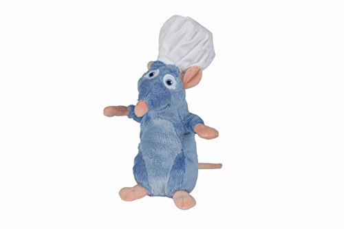 Disney- Ratatouille Remy mit Pixar Plüschmütze, 5872057