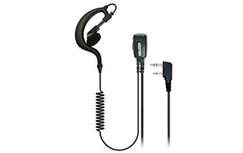 NAUZER PIN-29-S2 Pinganillo Profesional Micro-Auricular para Walkie Talkie ICOM