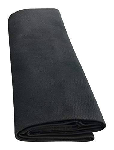 Unbekannt Akustikstoff, 150 x 75 cm, Schwarz