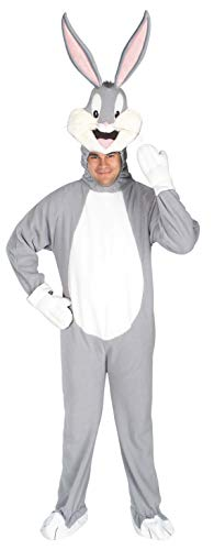 Rubie's-déguisement officiel - Looney Tunes - Costume Adulte Bugs Bunny - Taille Standard- I-16395