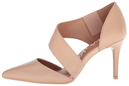 Calvin Klein Women's Gella Dress Pump, Desert sand leather, 7 M US