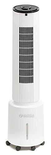 Olimpia Splendid Peler 5 Ventilador, 50 W, 48 Decibeles, Plástico, Blanco
