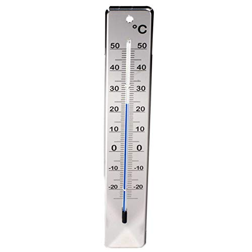 SIDCO Thermometer Edelstahl Außenthermometer Wandthermometer Gartenthermometer