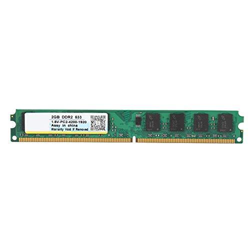 Geheugen RAM-module, Draagbare DDR2 533 MHz 2G 240-pins PC Memory Stick RAM-module voor AMD-moederbord, voor DDR2 PC2-4200 Desktopcomputer