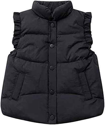 Toddler Industry No. 1 Baby GirlsBoys Zipper Jacket Vest Light Sleeveless Superior Warm