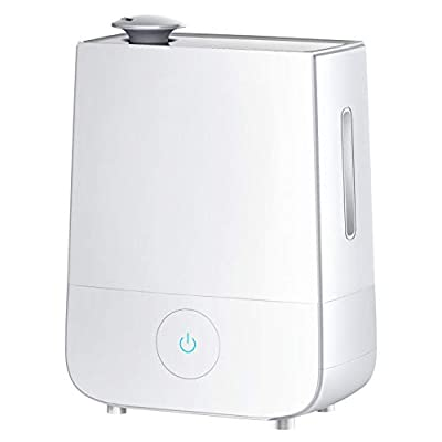 InnoGear Cool Mist Humidifier, 4L Touch Control Ultrasonic Humidifiers 360° Rotatable Nozzle and 3 Mist Level Low/Medium/ High 13-40 Hrs Waterless Auto Shut-Off Whisper Quiet for Home Baby Nursery