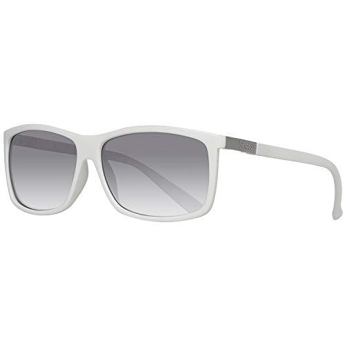 Guess Sonnenbrille GU0118 59T57 Gafas de sol, Blanco (Weiß), 59 para Hombre