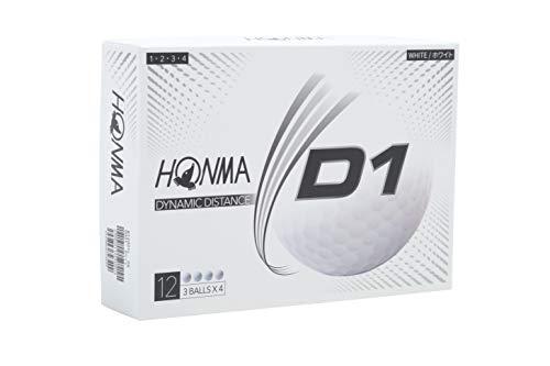 本間ゴルフ D1ボール ホワイト