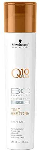 Glamorous Hub Schwarzkopf Professional Q 10 Plus BC Bonacure Hair Therapy Cell Perfection Champú, 250 ml (el embalaje puede variar)