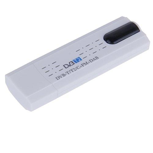 Anmyox - Mini sintonizador de TV portátil USB 2.0 Dongle TV