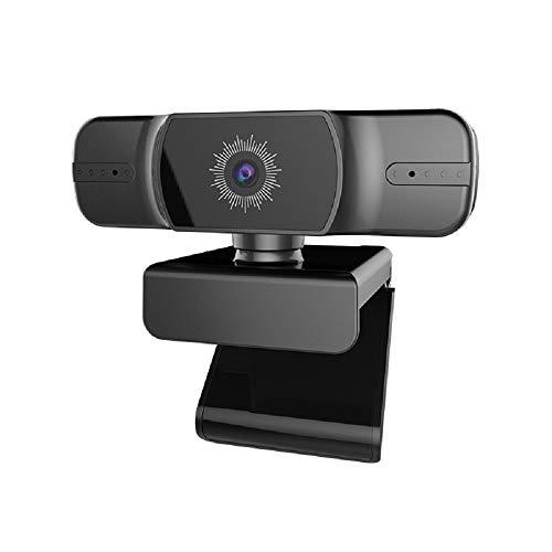 ANYIKE 1080P HD Webcam con micrófono, Plug and Play, Auto Focus, para Youtube, Skype Videollamadas, Estudio, Juegos