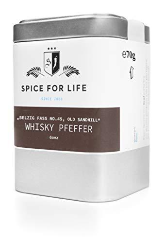 Spice for Life Belziger Whisky Pfeffer - Single Malt Pepper 70g
