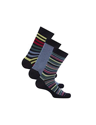 Pepe Jeans Pack 3 Paar Socken mehrfarbig für Herren, Mehrfarbig 43