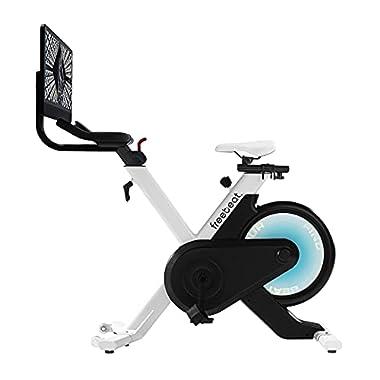 Freebeat Stationary Bike, 180° Rotatable 21.5″...