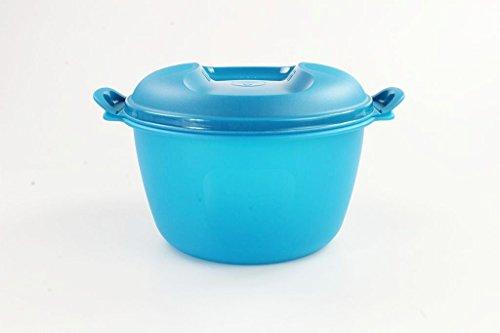 TUPPERWARE Mikrowelle Reis-Meister 3,0 L blau großer Reiskocher Mikro Micro
