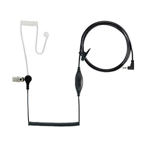 DEWALT DXFRSSV1 - Auriculares para radio DXFRS300 y DXFRS800 Walkie Talkie de dos vías, conector de auriculares de 2,5 mm