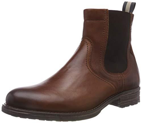 Marc O'Polo Herren Chelsea Klassische Stiefel, Braun (Cognac 720), 44 EU