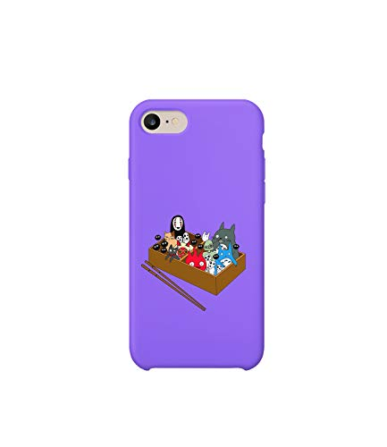 GlamourLab Bento Spirits Studio Ghibli Characters Illustration_R1977 Phone Case Guscio Resistente Custodia Protettiva Compatible with for iPhone 6 Funny Regalo di Natale Birthday Novelty