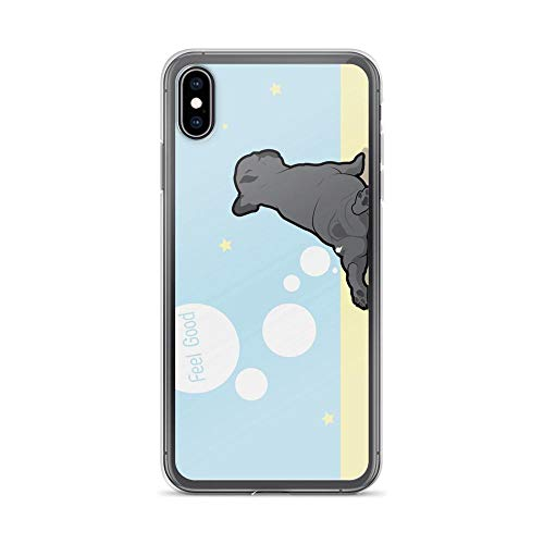 Compatible for iPhone 6/6s Case Frenchie Dogs Peeking Pumpkin Gifts TPU Anti-Scratch