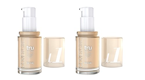 Cover Girl Trublend Liquid Foundation Ivory L1 - Pack of 2