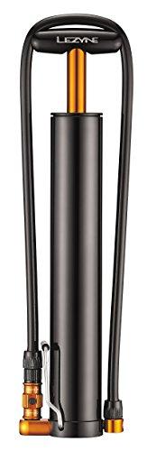 LEZYNE Micro Floor Drive XL Bicycle Hand Pump, Extra High Volume 35psi, Plus-Size Tires, Portable Bike Pump