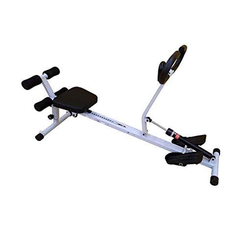 Unbekannt Mit 7 Resistance Rower Trainer, Home Folding Smart Fitness Rudergerät Indoor Für Home Cardio Workout Maximales Benutzergewicht 100 Kg (Größe: 132,5 * 43 * 48 cm)