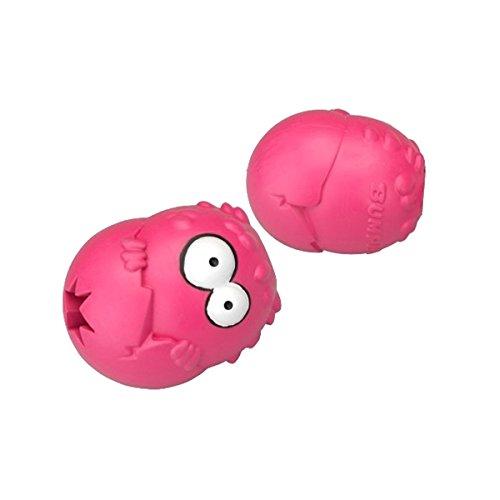 COOCKOO 303-435922 Hundespielzeug Bumpies, mit Erdbeergeschmack, mehr als 27 kg