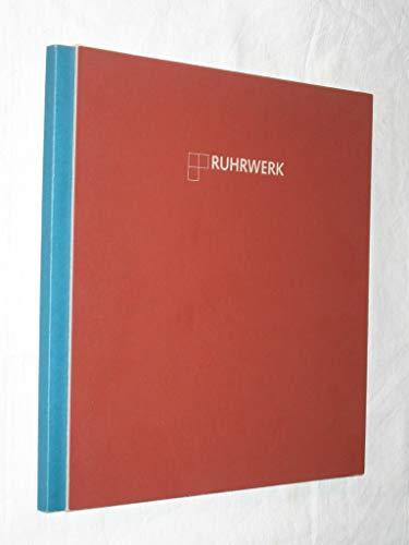 Ruhrwerk - in Bildern und Klängen von Klaus Armbruster und Wolfgang Hufschmidt: Das Programmbuch