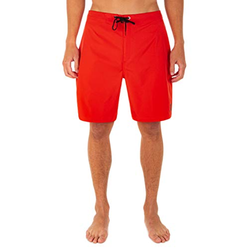 """Hurley Men's One and Only Solid 20"""" Board Shorts, Chile Red, 31"""