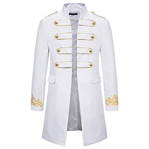 Affordable Eimvano Men Vintage Tailcoat Jacket Steampunk Victorian Uniform Formal Tuxedo Frock Coat