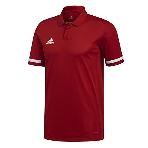 adidas T19 M Camiseta Polo, Hombre, Power Red/White, 4XL
