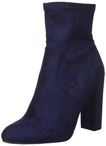 Steve Madden Damen Stiefel Stiefel Editt, Blau (Navy Micro), 37-38 (US 7)
