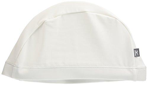 MIZUNO(ミズノ) スイムキャップ 競泳 水泳帽 2WAY(縦横に伸びるタイプ) トリコット ゆったりサイズ 85BE101ホワイト