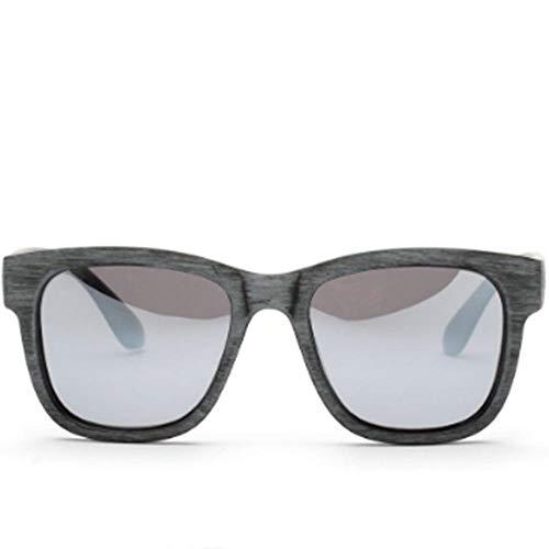 Hout imitatie gepolariseerde zonnebril dames en heren