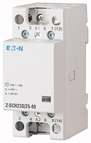 Eaton 248852 Installationsschütz, 230VAC, 4S, 40A