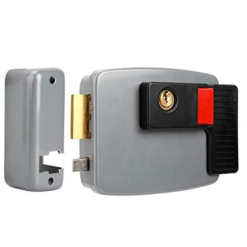 Cerradura Eléctrica - MAGT DC12V Cerradura de Puerta Magnética de Control Eléctrico...