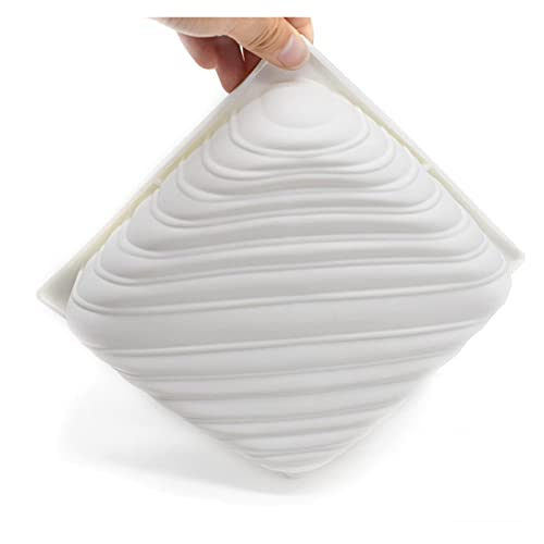 ZIS Mousse Almohada con Forma de Molde de la Torta de Silicona en Forma para Helados Chocolates Moldes de Torta 3D Pan Accesorios